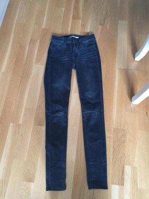 Levis Jeans Super Skinny 710 grau