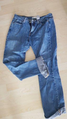 Levi's Lage taille broek korenblauw Gemengd weefsel