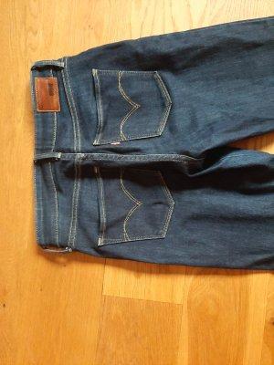 Levi's Jeans a vita alta blu scuro-blu Cotone