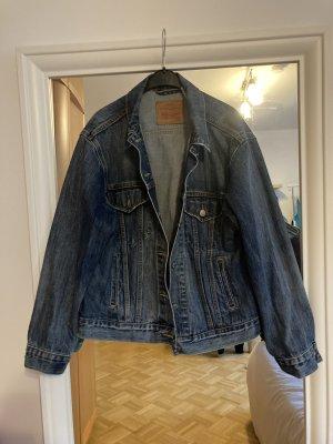 Levis Denim Jacket dark blue-blue