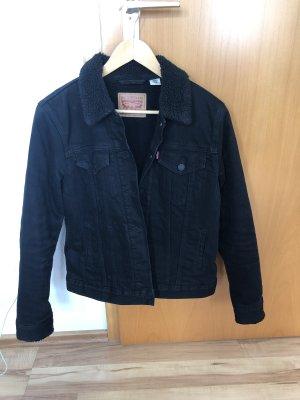 Levis Jeansjacke mit Teddy Futter