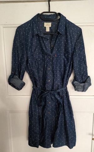 Levi Strauss & Co Robe en jean bleu