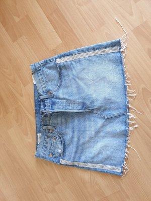 Levi's Gonna di jeans blu pallido-blu