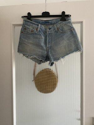 Levi's Short en jean bleu-bleu azur