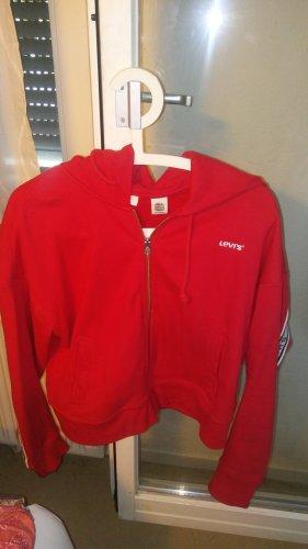 Levi's Chaqueta con capucha rojo