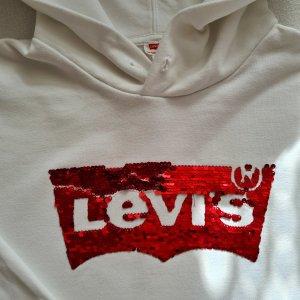 Levis Sweter z kapturem biały