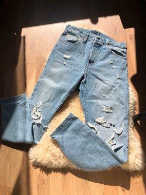 Levi's Jeansy z prostymi nogawkami błękitny-niebieski neonowy