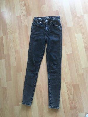Levi's Jeans skinny antracite Cotone