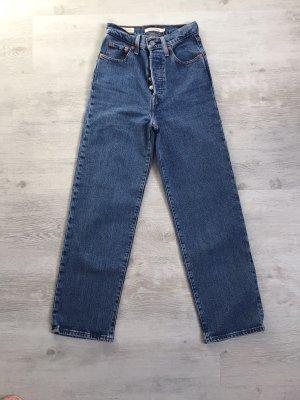 Levis Premium/ Jeans/ Ribcage Straight/ High Waist/ Gr. 34