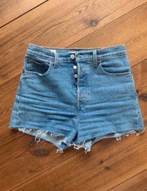 levis ribcage shorts 27