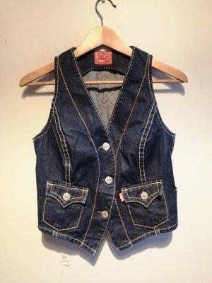 Levi's Smanicato jeans blu scuro