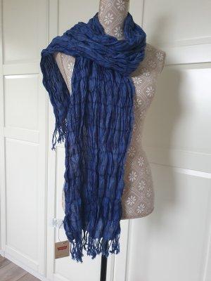 Levi's Fringed Scarf black-blue