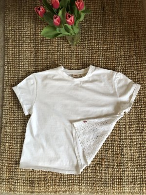 Levis Shirt mit Spitze Lochmuster