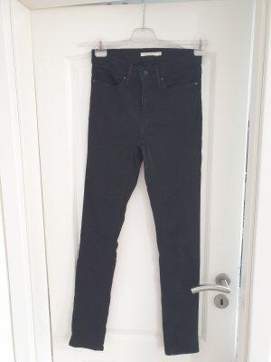 levis skinny schwarz jeans