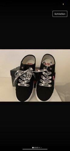 Levis Zapatos de patinador negro-blanco