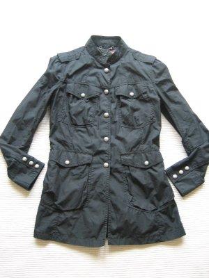levis sommerjacke schwarz neuwertig parka gr. s 36