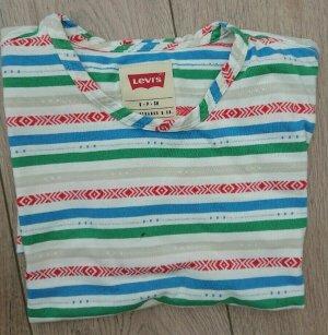 Levis T Shirt, Gr. M, Gestreift, Trend, Bunt
