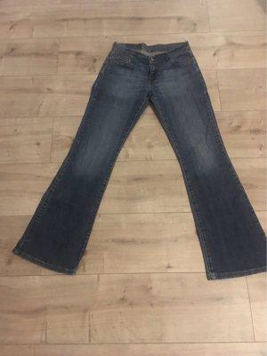 Levis Jeans flare bleuet