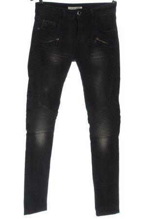 Lexxury Biker Jeans black casual look