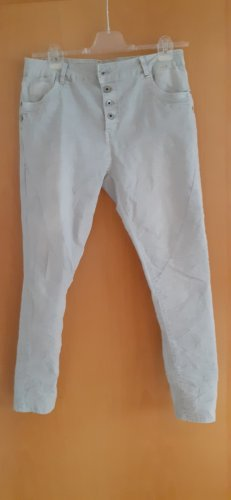 Lexxury Boyfriend Trousers oatmeal cotton