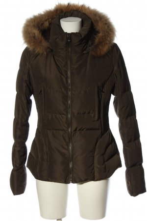 Lexxury Down Jacket brown quilting pattern casual look