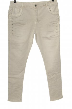 Lexxury Five-Pocket Trousers natural white casual look