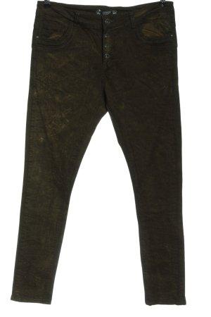 Lexxury High Waist Trousers khaki casual look