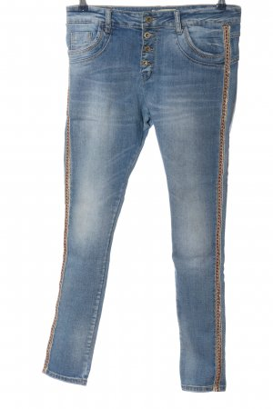 Lexxury High Waist Jeans graphic pattern casual look