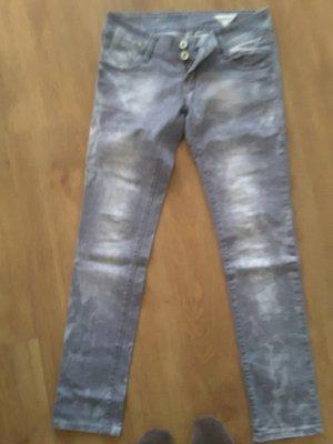 Lexxury Jeans grau-weis  Gr. L