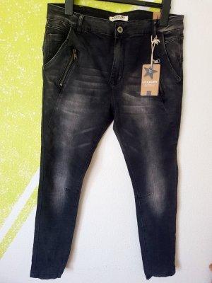 Lexxury Jeans schwarz Stretch Neu Gr 40 42
