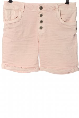 Lexxury Denim Shorts pink casual look