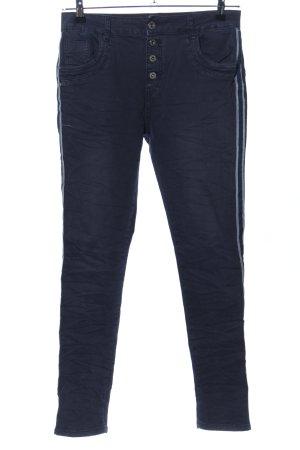 Lexxury Skinny Jeans blau Casual-Look