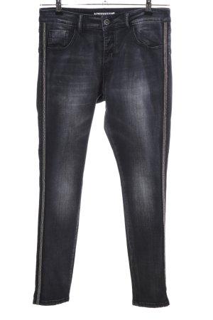 Lexxury Skinny Jeans schwarz Casual-Look