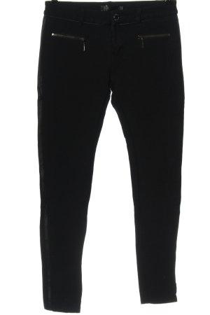 Lexxury Jersey Pants black casual look