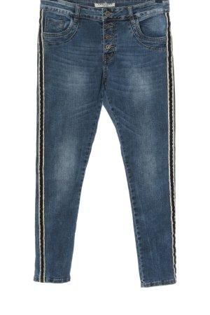 Lexxury Straight Leg Jeans blue casual look