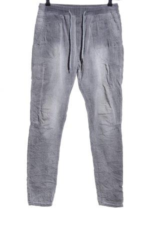 Lexxury Pantalon strech gris clair style décontracté
