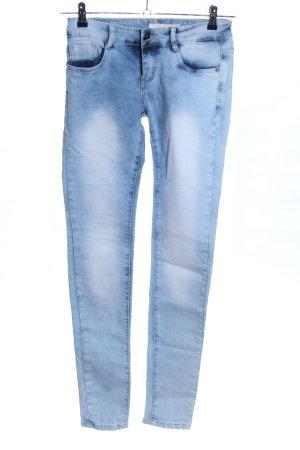 Lexxury Slim Jeans blau Casual-Look