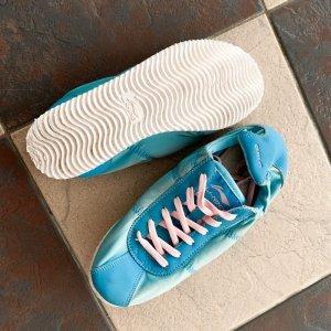 Li-Ning Trainers Sportschuhe Sneakers Schuhe Sport Gym blau pink retro vintage cortez