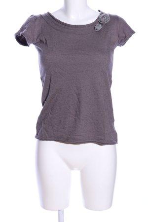 Lia Mae T-Shirt braun Casual-Look