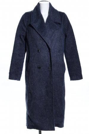 libertine-libertine Abrigo de piel sintética azul moteado estilo «business»