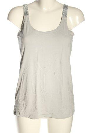 Liberty Top basic bianco sporco stile casual