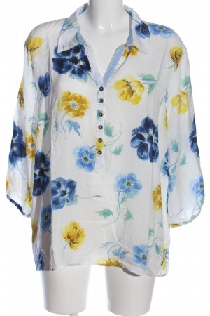Liberty Hemd-Bluse Allover-Druck Casual-Look