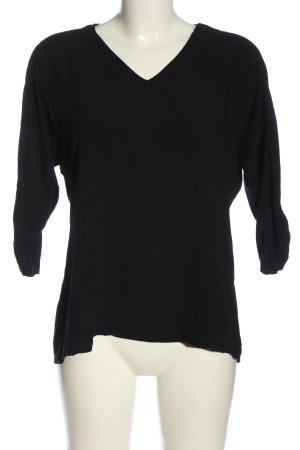 Liberty Camicetta a maniche lunghe nero stile casual