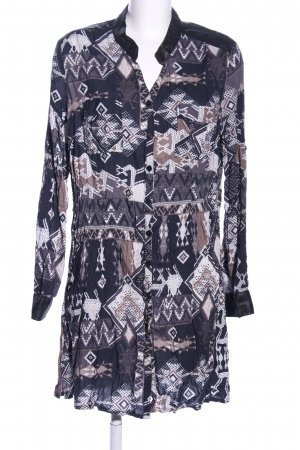 Liberty Long Blouse abstract pattern casual look