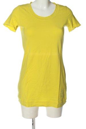 Liberty Camicia lunga giallo pallido stile casual