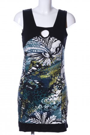 Liberty Minikleid Allover-Druck Casual-Look