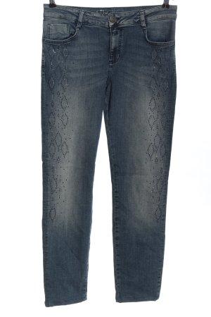 Liberty Jeans a sigaretta blu stile casual