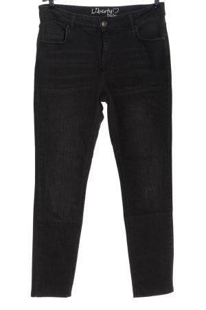 Liberty Jeans a sigaretta nero stile casual