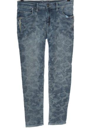 Liberty Jeans a sigaretta blu Colore sfumato stile casual