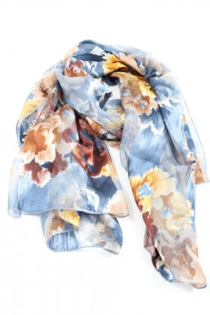 Liberty Silk Scarf abstract pattern casual look